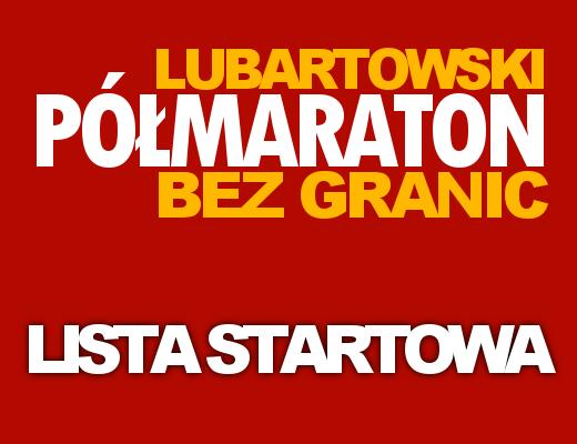Półmaraton BEZ GRANIC - Lista Startowa