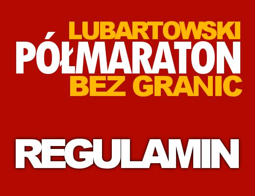Półmaraton BEZ GRANIC - Regulamin