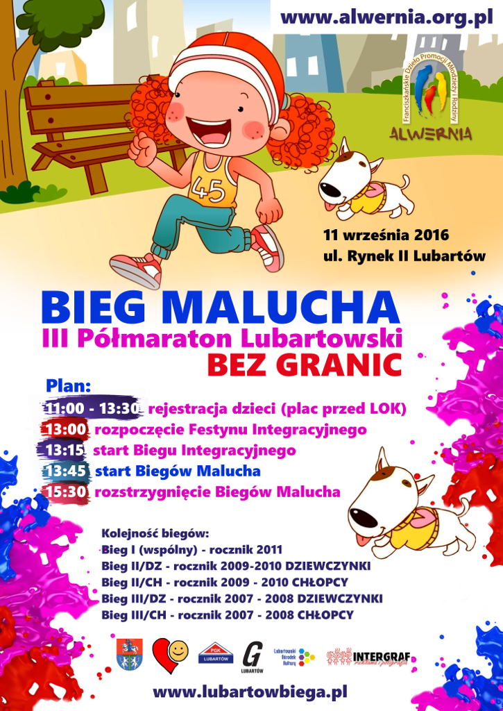 Półmaraton BEZ GRANIC - Bieg Malucha
