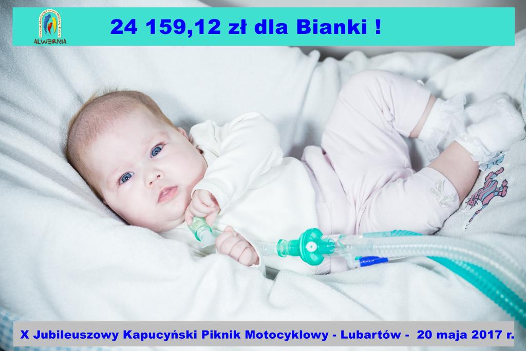 X Kapucyński Piknik Motocyklowy dla Bianki