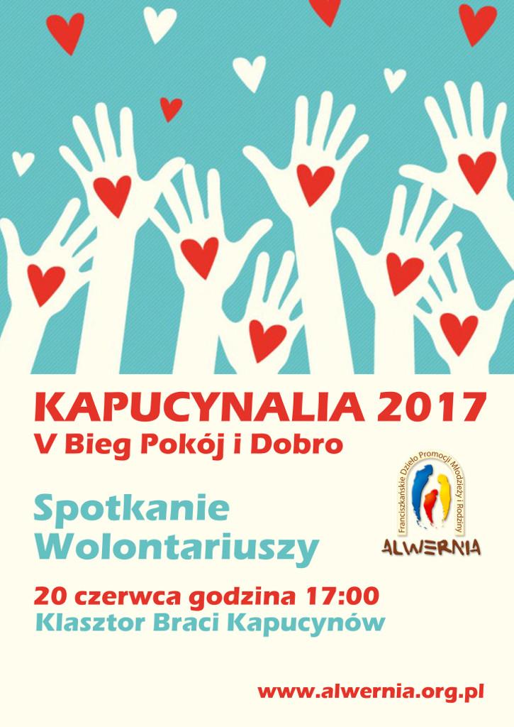 Kapucynalia 2017 - Wolontariat