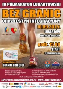 Półmaraton Lubartowski BEZ GRANIC