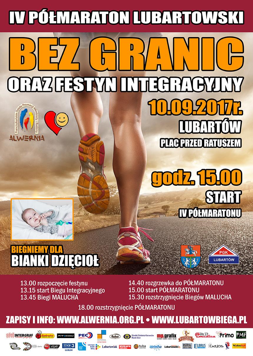 Półmaraton BEZ GRANIC 2017