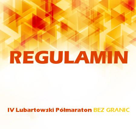 Półmaraton BEZ GRANIC 2017 - REGULAMIN