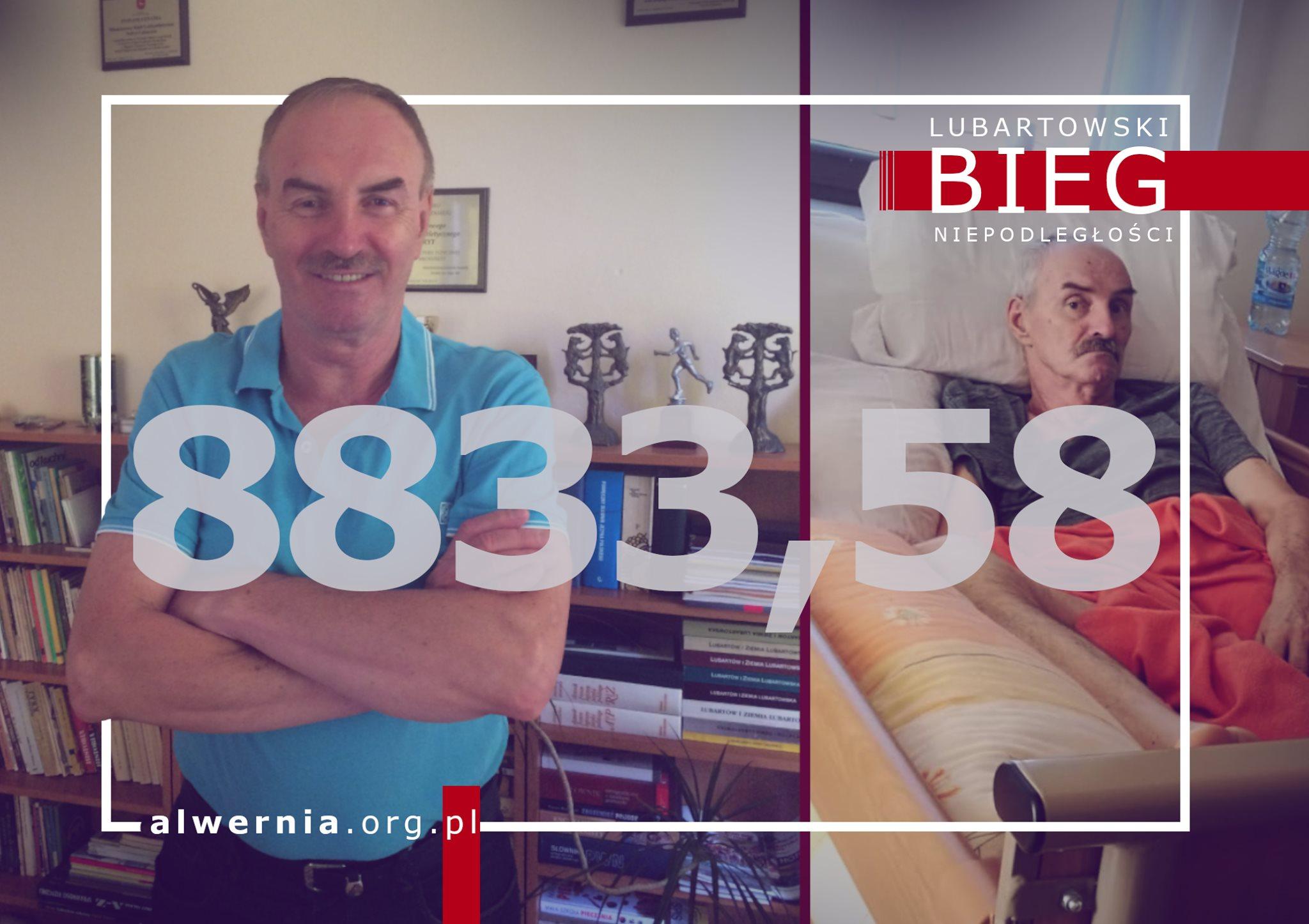 8833,58 zł dla Pana Wiesława Nowaka