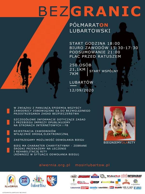 VII Półmaraton Lubartowski Bez Granic