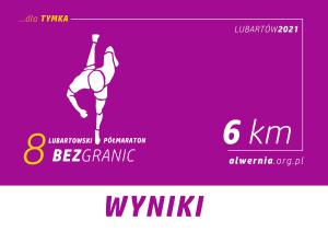 8 PÓŁMARATON LUBARTOWSKI BEZ GRANIC_WYNIKI_6KM
